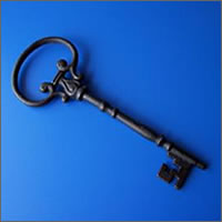 Giant vintage iron keys for hire, Auckland