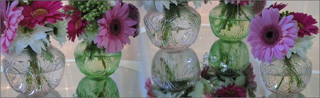 Wedding summer centrepiece for hire