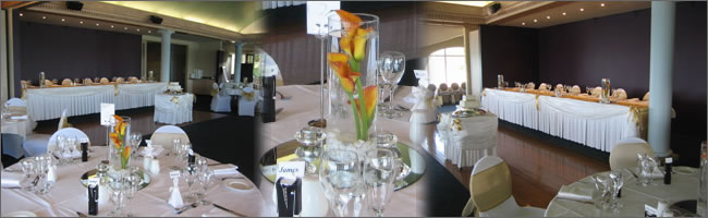 Wedding head table swags, Auckland