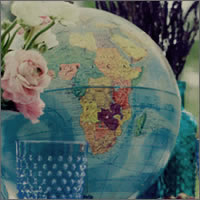 World travel globe on stand for hire | Vintage weddings or travel themes, Auckland