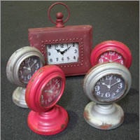 Vintage style clocks for hire, Auckland