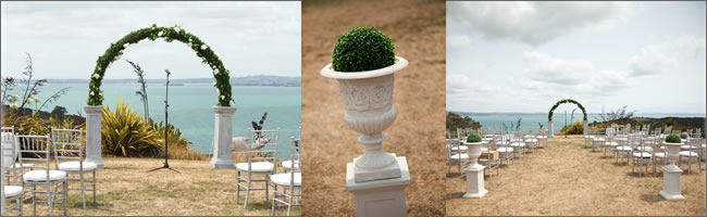 Pillar arch for hire, Auckland Weddings