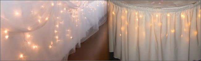 Icicle lights for hire, Auckland