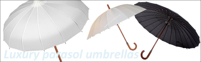 Luxury parasol umbrellas for hire, Centrepieces