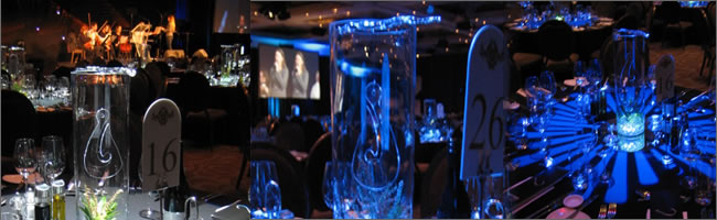 New Zealand themed centrepieces for hire, Auckland