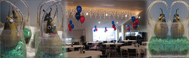 Pairs themed event decorating