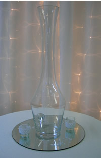 Very tall vases for hire
