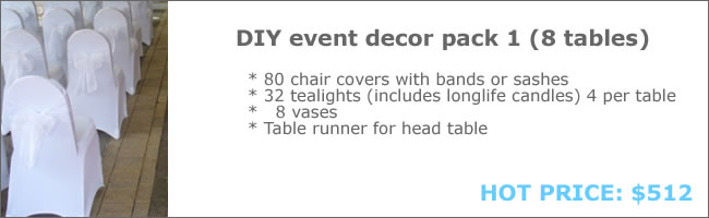 Wedding decor package 1